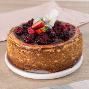 Cheesecake NY frutos rojos
